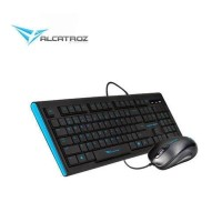 Alcatroz Xplorer 2000SL Keyboard Mouse Combo - Hitam