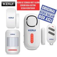 KERUI D2 Alarm Pintu dan Jendela dengan Remote PIR Magnetik Sensor