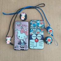 Case Oppo A5S Softcase Karakter Kartun Doraemon - HK Free Tali HP