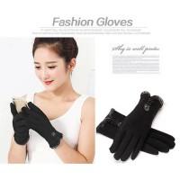 Nuanhonghong Sarung Tangan Wanita Touch Screen Winter Women Gloves -