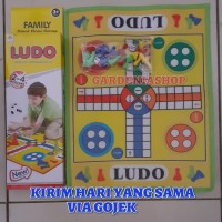 MAINAN EDUKATIF FAMILY GAME KARPET LUDO