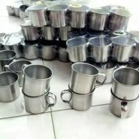 Mug / Cangkir stainless uk.7 cm