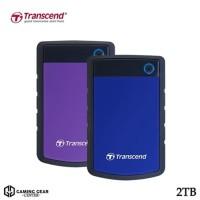 Transcend StoreJet 25H3 2TB - HDD / Harddisk External Antishock