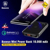 Power Bank Wireless Fast Charging Baseus QC 3.0 PD 18W 10000mAh