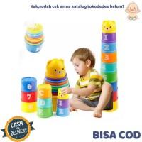 TokoDedee - Mainan Susun Anak / Mainan Melatih Motorik Anak