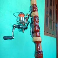 Joran Pancing Klasik bambu cendani 165 cm 2 bagian