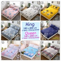 Bed Cover Sprei King dan Queen Size