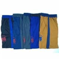 celana pendek Kaos PE / celana pendek kolor santai pria -STDF