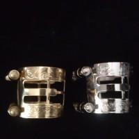 Ligature alto saxophone metal premium