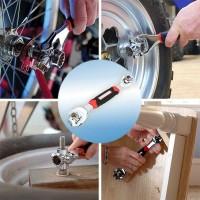 Kunci Pas Ring Pas set Mur Baut Universal Tiger Wrench 48 IN 1 Tools