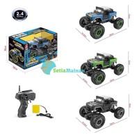 Mainan Mobil RC Rock Crawler - Mobil Jeep Off Road 4WD Murah