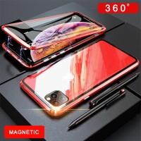 I Metal Case For iPhone 6 7 8 Plus X XS XR MAX Case Magnetic 360