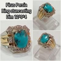 cincin batu akik pirus persia 1294
