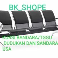 Kursi Bandara/tggu Import dudukan busa 4 person