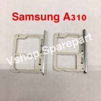 Simtray Sim Lock Tempat Simcard Samsung Galaxy A310 A3 2016 A510 A5