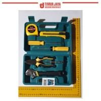 KENMASTER TM811 Tool kit Meteran Tang Kunci Inggris Obeng SET Testpen