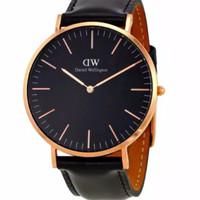 DANIEL WELLINGTON DW00100127 Jam Tangan Classic Black Sheffield Horlog