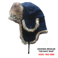 Topi Rusia Ushanka Hat Highest Type - FUR STYLE