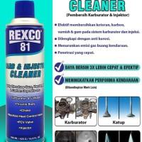 Jual Rexco 81 Pembersih Karburator dan Injektor (Cleaner) 500 Ml