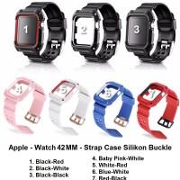 Apple Watch 42MM 42 MM - Strap Case Tali Jam Silicone Silikon Band