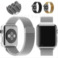 Tali Jam Apple Watch Milanese Loop Strap Band Iwatch 38mm - Silver