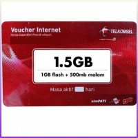 voucher data fisik internet gb 5 telkomsel 1 jabotabek