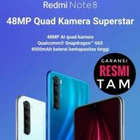Xiaomi Redmi Note 8 TAM Garansi Resmi Indonesia 4/64 RAM 4GB 64GB