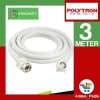 [3 Meter] Selang Water Inlet Masukan Air Mesin Cuci Polytron