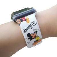 Tali iWatch strap sport band Disney Mickey Minnie series rubber