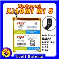 Baterai XIAOMI Mi 5 BM22 VIZZ batre batere batrai batrai Mi5 Prime