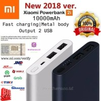 PowerBank Xiaomi Mi 2i 10000 Mah Original Duo USB Port Xiaomi Mi 2i