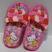 Sandal Kamar Anak Perempuan S22-27 Hello Kitty Bekro Slipper | Kamar