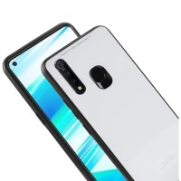 Case Glass Vivo Z1 Pro Soft Hard Back Cover Tempered Mirror