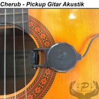 Pickup Gitar Akustik Klasik Ukulele Clip On Cherub WCP - 60G Sepul