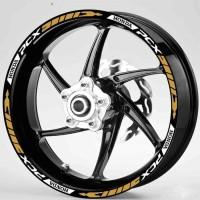 Sticker Velg Motor Wheel Striping New Honda Pcx Uk velg 14inc