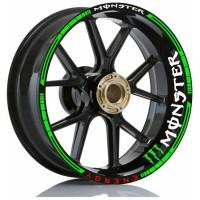 Stiker Velg Motor Wheels Sticker Monster Energi All Motor Sport Ring17
