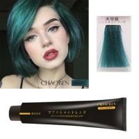 CHAOBEN 04 TURQUOISE Hair Color Cream Cat Rambut Tosca Biru