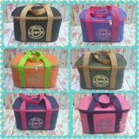 Lunch Cooler Bag Yooyee / Tas Lunch Bag Besar / Korea Cooler Bag