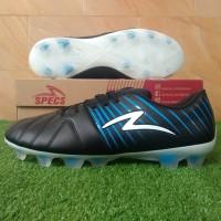 Specs Barricada Lea 19 FG (Sepatu Bola) - Black/Tulip Blue