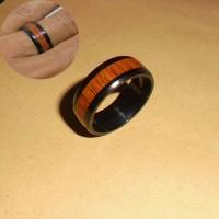 Cincin Titanium Asli Anti karatan Untuk Pria