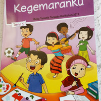 Buku SD Kelas 1 Buku Pelajaran Sekolah SD/MI Tematik Kelas I TEMA 2.