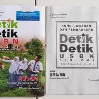Kumpulan Soal SMA Buku Detik- detik USBN Biologi SMA 2018 / 2019