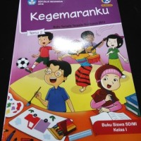 "Buku SD Kelas 1 Tematik 1 SD Tema 2 ""Kegemaranku"" Revisi 2017"