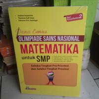 Kumpulan Soal SMP PENA EMAS OLIMPIADE SAINS NASIONAL MATEMATIKA UNTUK
