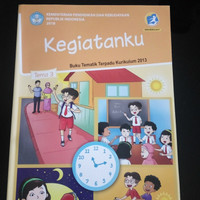 Buku SD Kelas 1 Buku Siswa Kelas 1 Tema 3 Rev.2017:Kegiatanku