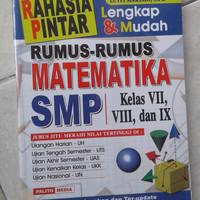 Kumpulan Soal SMP Rumus mtk smp