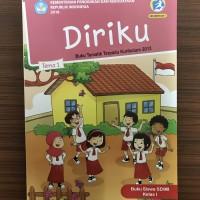 Buku SD Kelas 1 Kelas 1 Tema 1 (Diriku) Revisi 2017/2018
