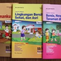 Buku SD Kelas 1 LKS Tematik Terpadu kelas 1 Tema, 5,6,7,8 Semester 2