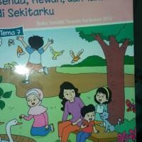 Buku SD Kelas 1 Buku Tematik SD kelas. 1 tema 7
