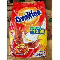 Susu Ovaltine Power 10 Malt Drink Chocolate Flavour 820Gr Import